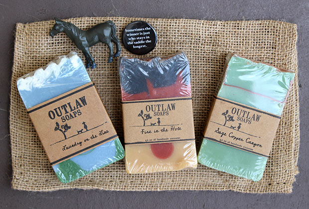 Outlaw Soaps with Burning Man Soap