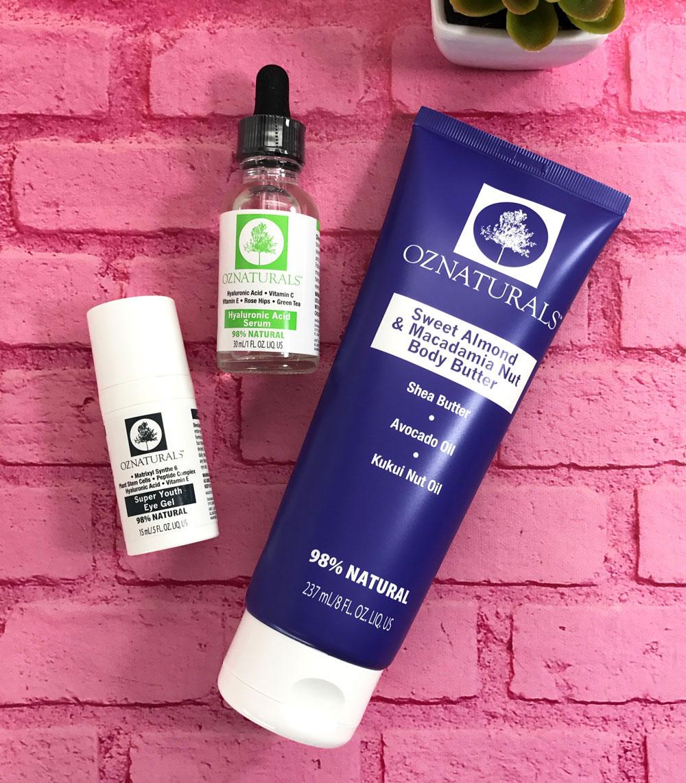 Oz Naturals Cruelty Free Antiaging Skincare