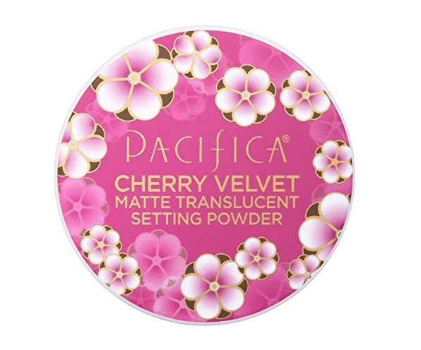 Cruelty Free Brands on Amazon - Pacifica Cherry Velvet vegan setting powder