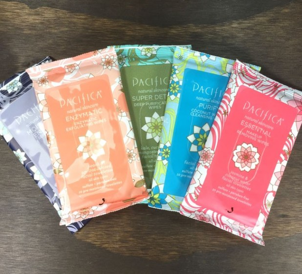 Pacifica Travel Wipes