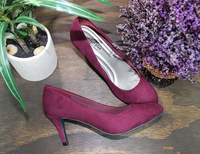Payless purple pumps
