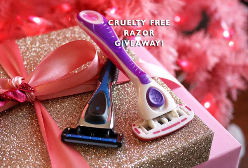 vegan and cruelty free razor giveaway