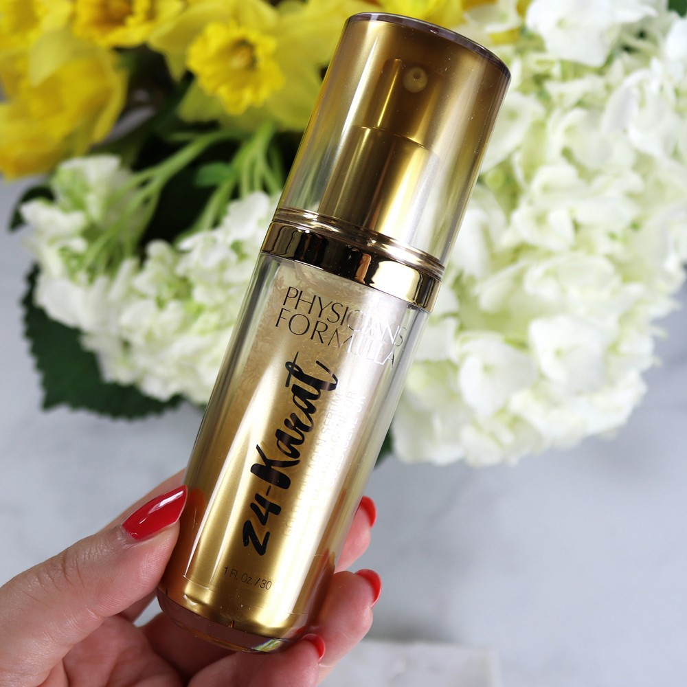 New 24 Karat Serum from Physicians Formula - Review by Los Angeles Cruelty Free Beauty Blogger My Beauty Bunny