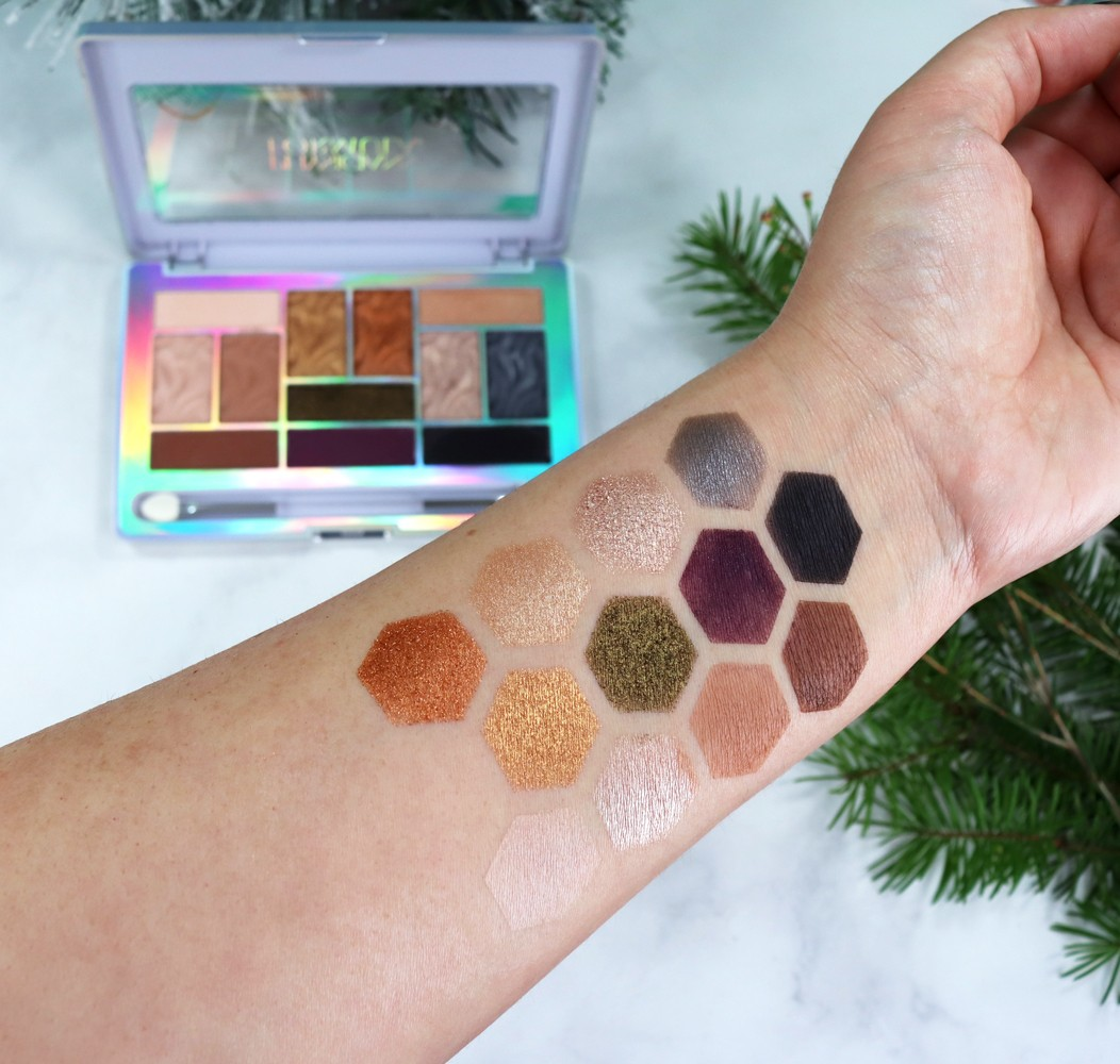Physicians Formula Butter Eyeshadow Palette Sultry Nights Swatches