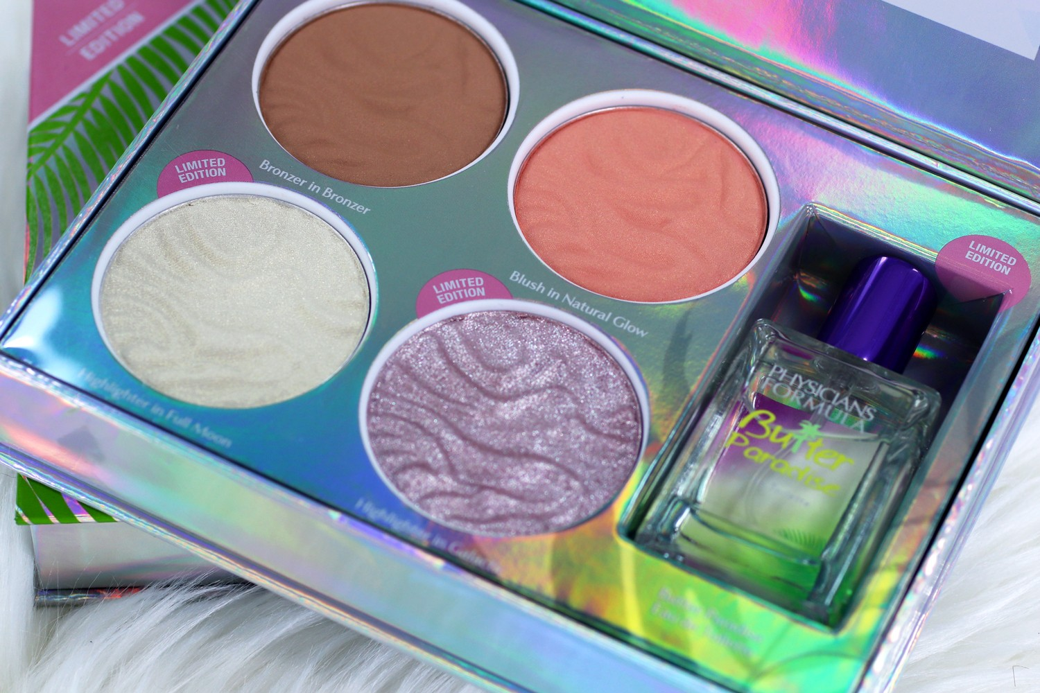 Physicians Formula Butter Collection Palette Light Medium - Review and Swatches by Popular Los Angeles Cruelty Free Beauty Blogger, My Beauty Bunny