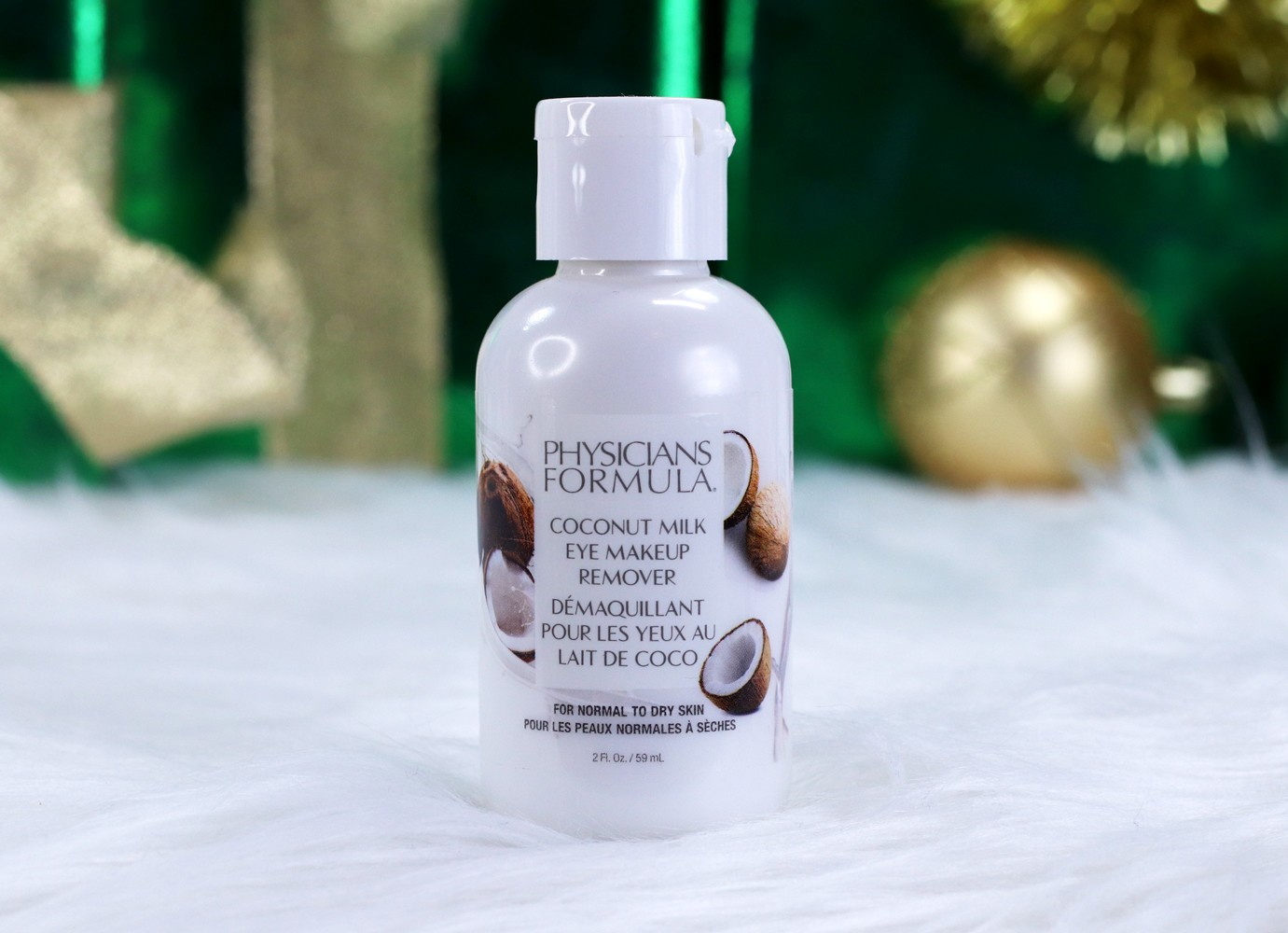 Physicians Formula Coconut Milk Eye Makeup Remover Review