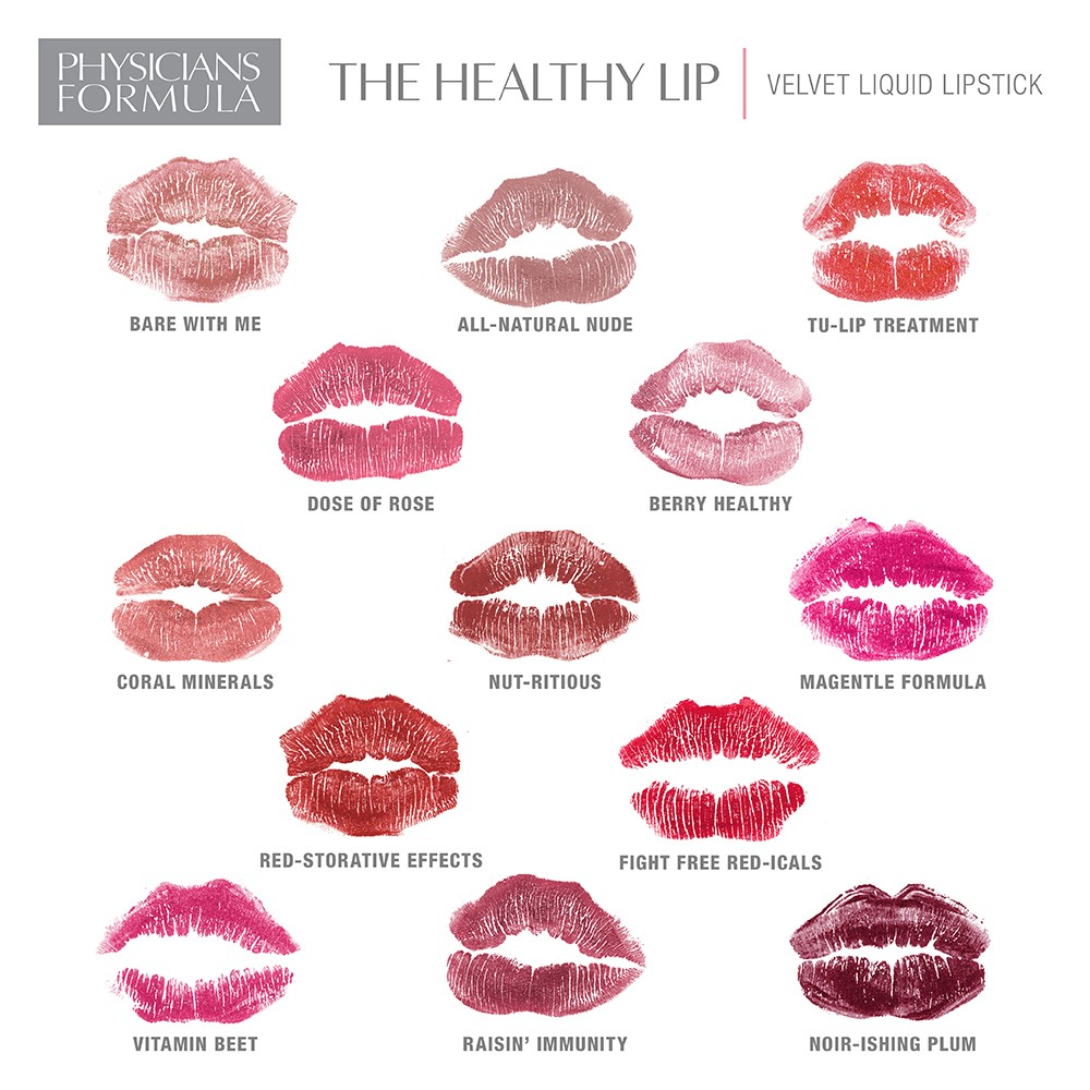 Physicians Formula Healthy Lip Velvet Swatches and Giveaway