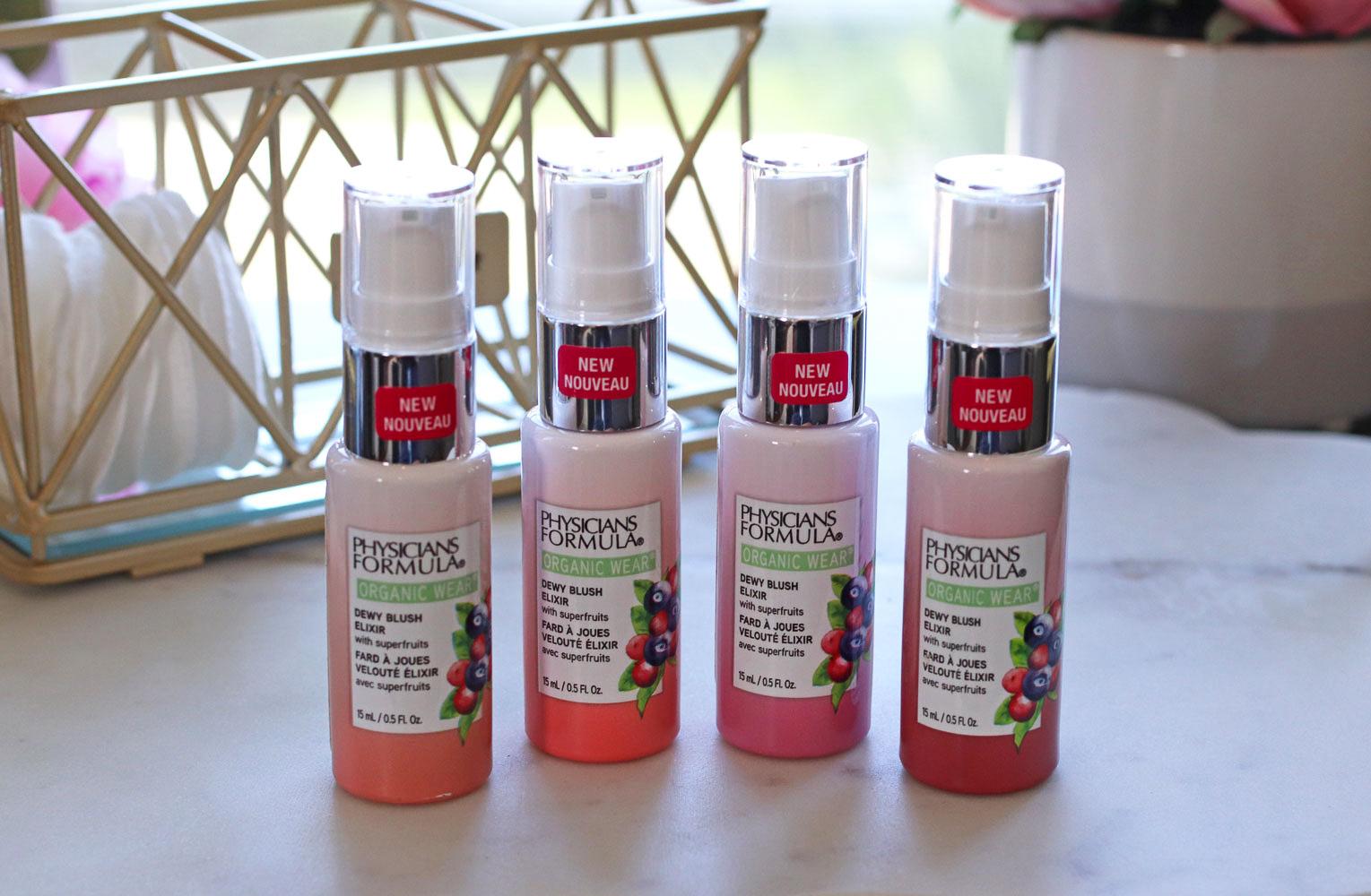 Physicians Formula Organic Wear Dewy Blush Elixir Review