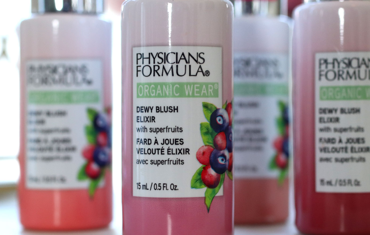 Physicians Formula Organic Wear Dewy Blush Elixir Review and Swatches