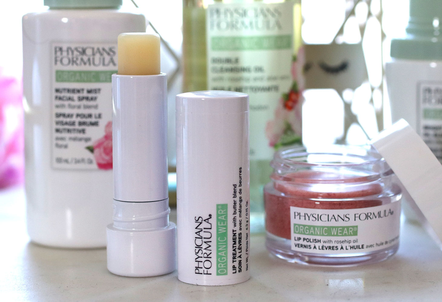 Physicians Formula Organic Wear Lip Treatment and Lip Polish