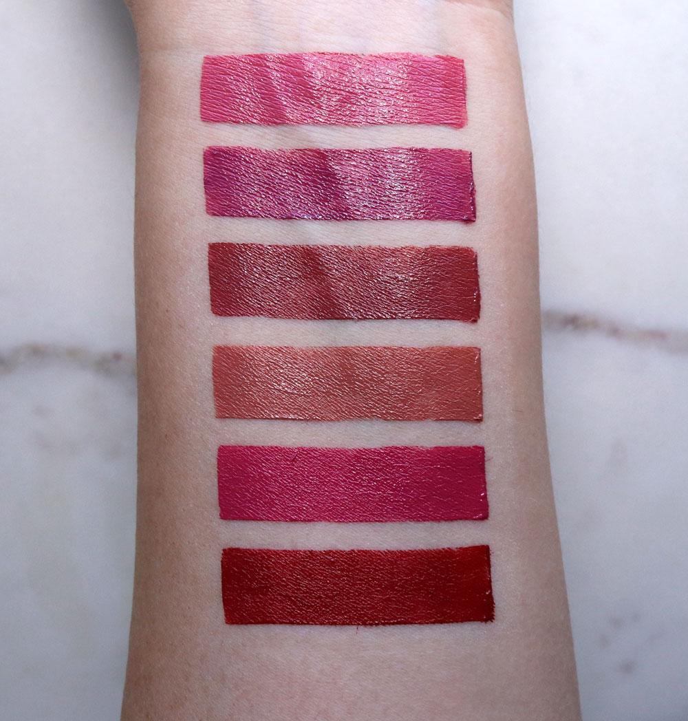 Physicians Formula Organic Wear Nourishing Lipstick Swatches