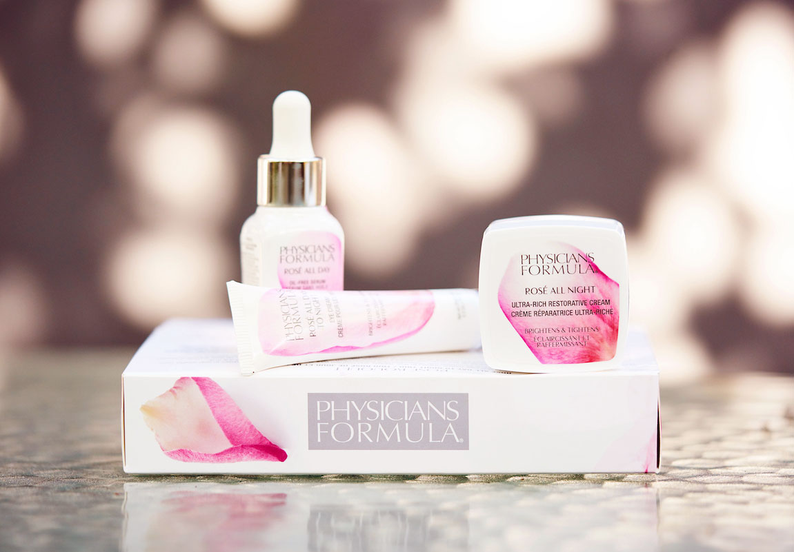 Physicians Formula limited edition Rose Bouquet rose skincare gift set