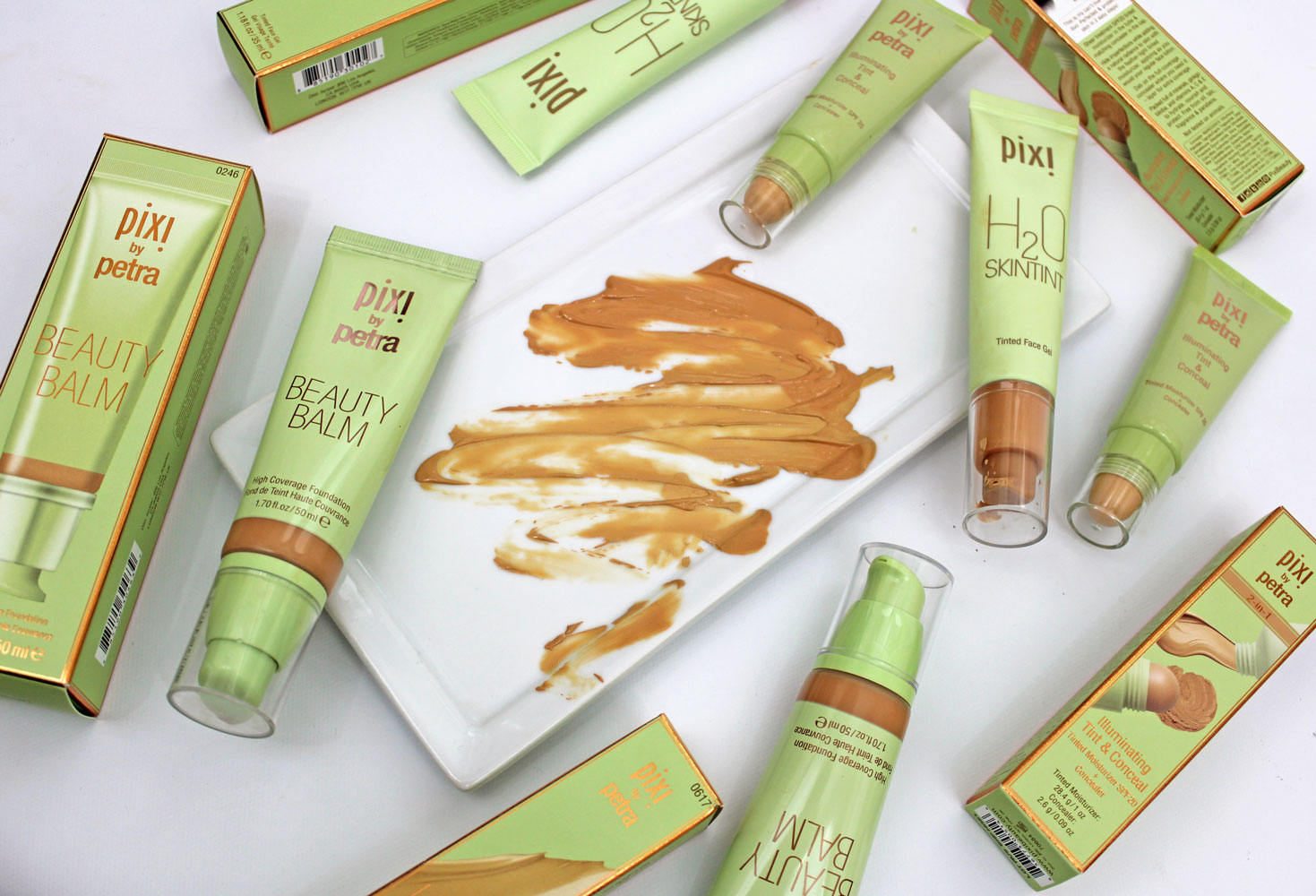 Pixi Beauty foundation comparison review