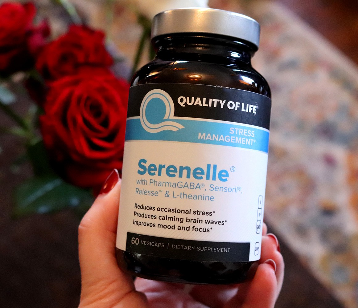 Supplement for Anxiety Stress and Mood - Serenelle by Quality of Life