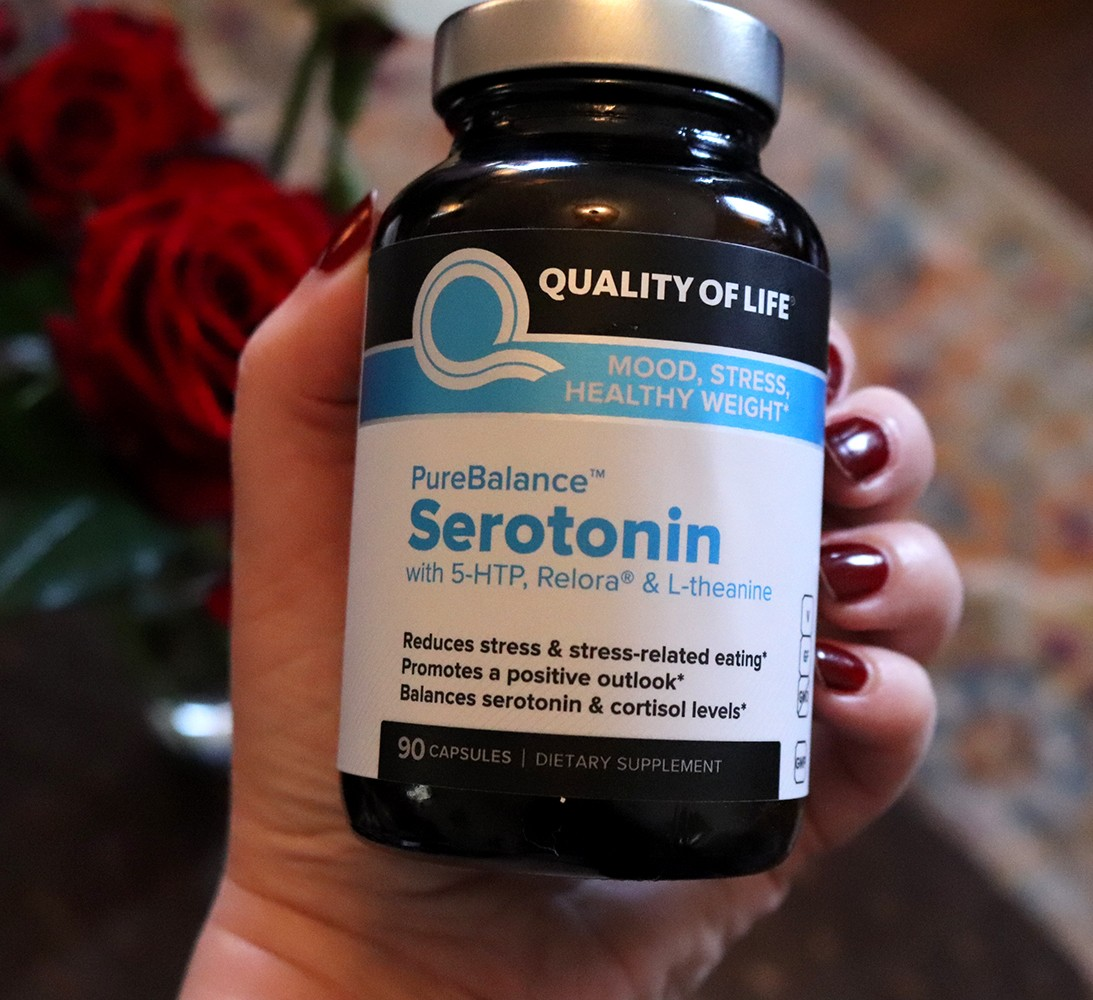 Supplement for Anxiety Stress and Mood - Pure Balance Serotonin by Quality of Life