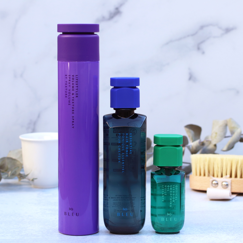 R+Co Bleu prestige hair care