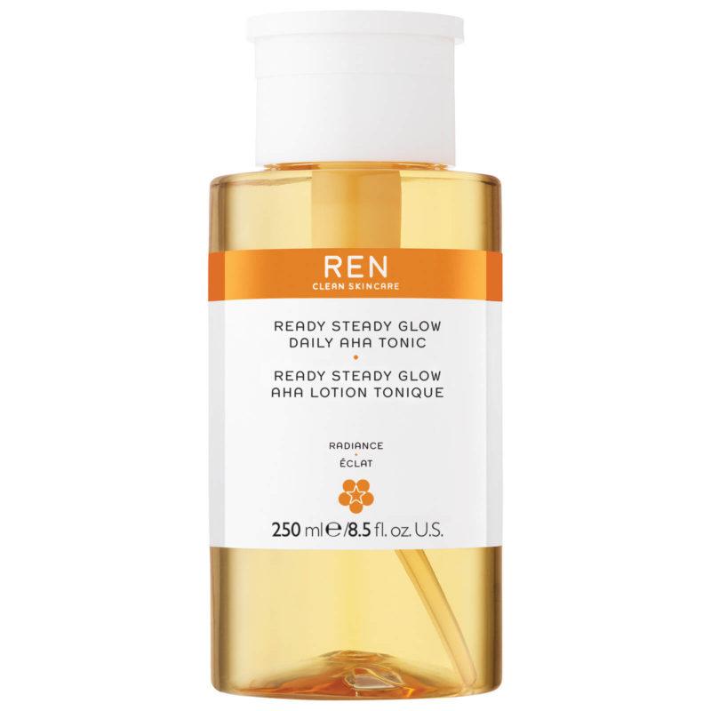 Clean Beauty on Amazon - REN Ready Steady Glow Daily AHA Tonic