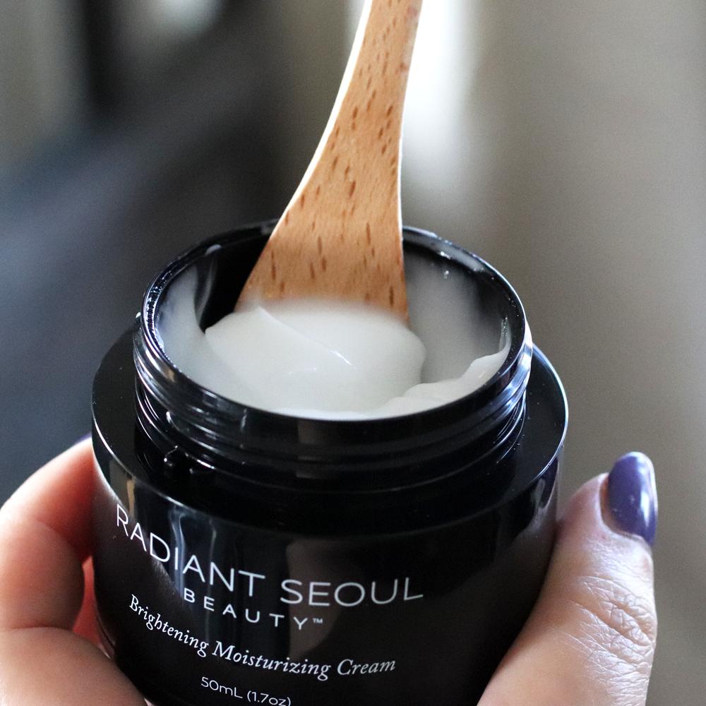 iHerb cruelty free skincare - Radiant Seoul Brightening Moisturizing Cream review