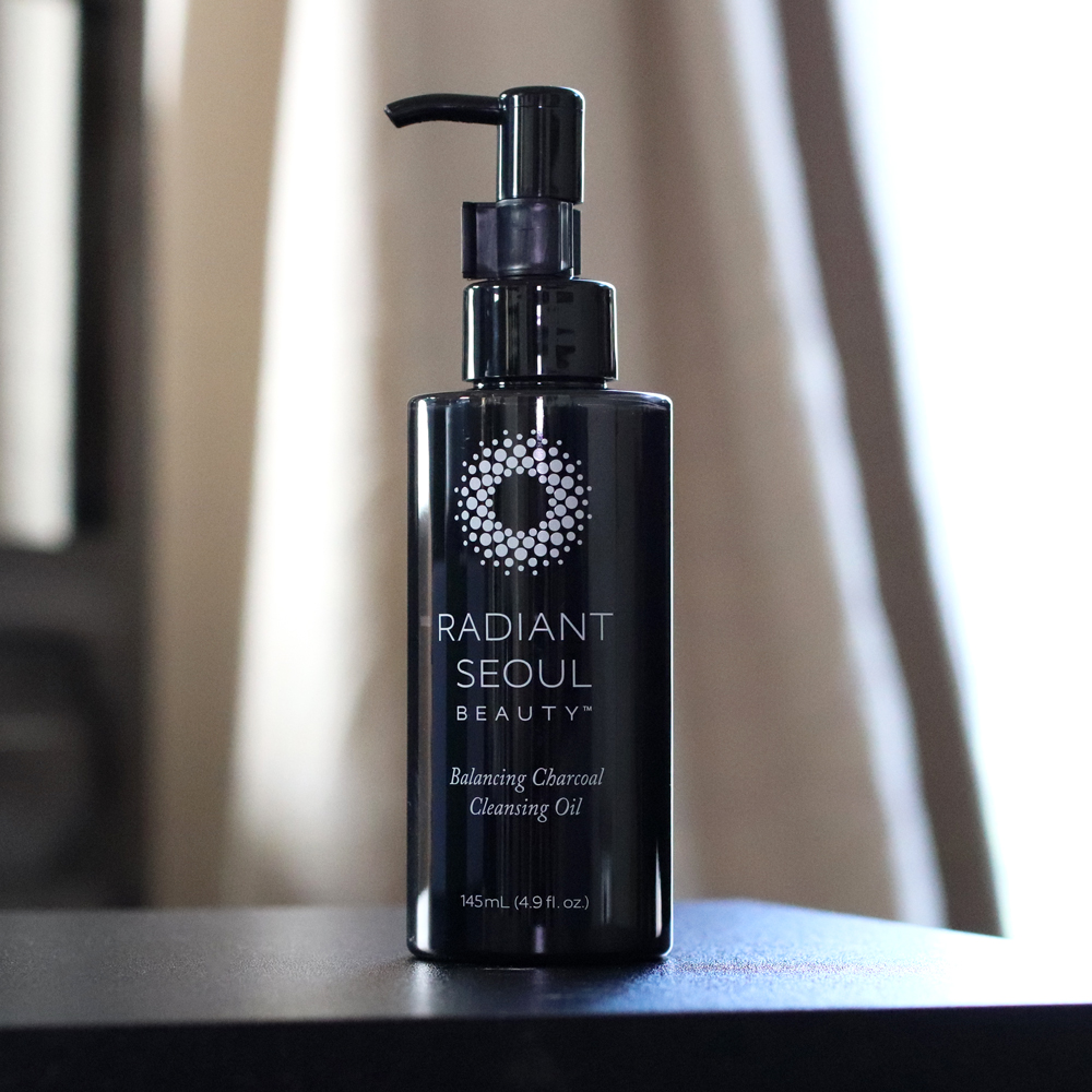 Radiant Seoul Balancing Charcoal Cleansing Oil review