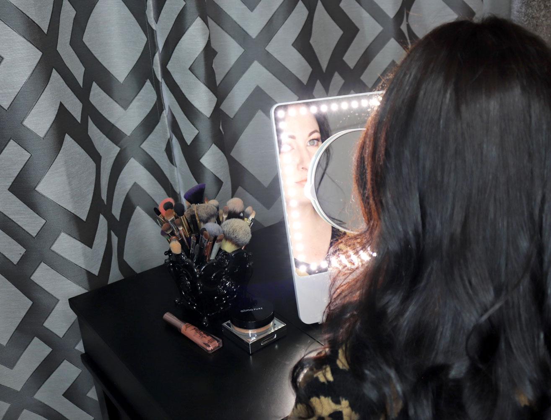 Glamcor Riki Skinny Vs Riki Tall Lighted Selfie Mirrors Review
