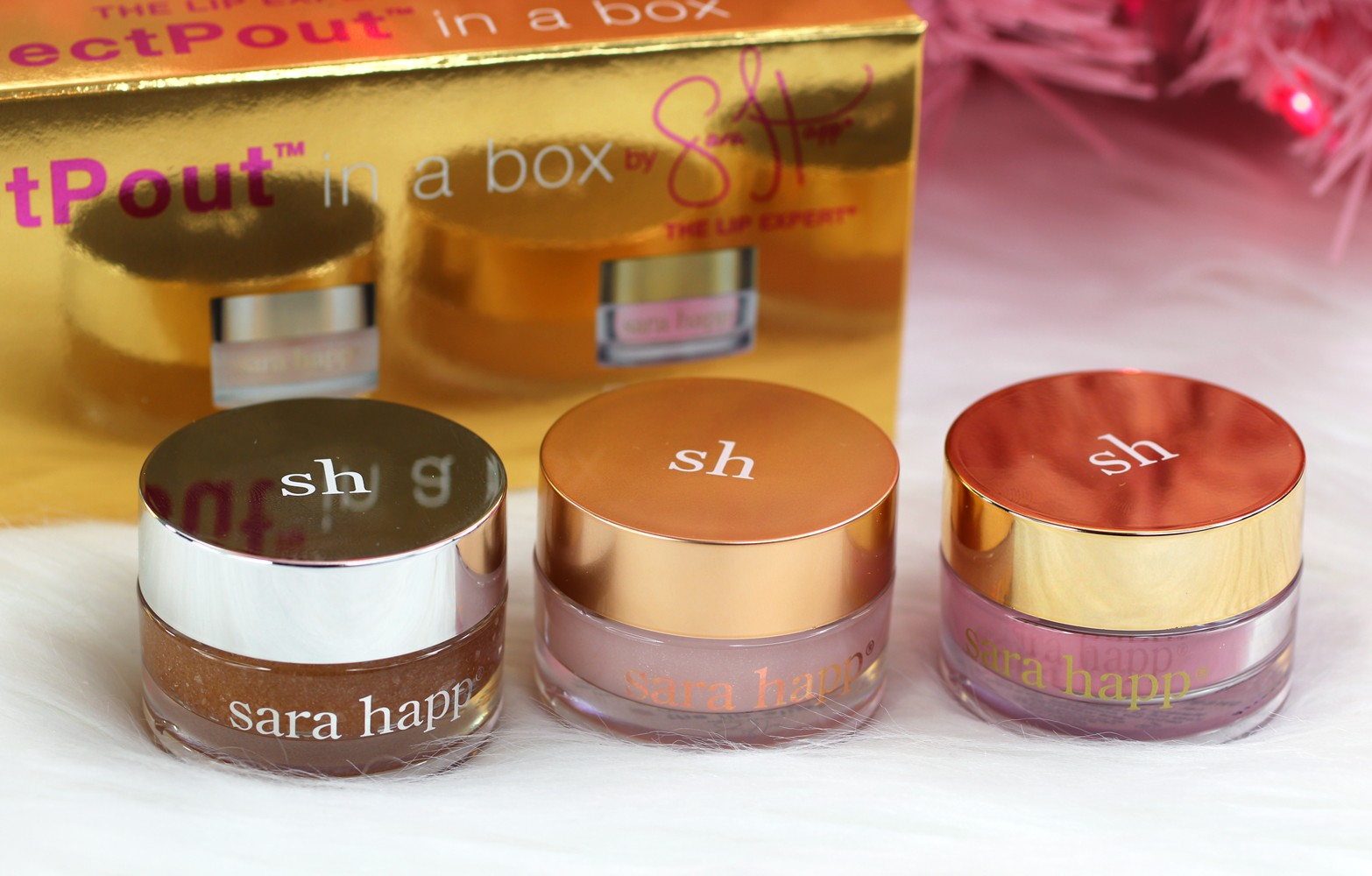 Sara Happ Perfect Pout Lip Gift Set