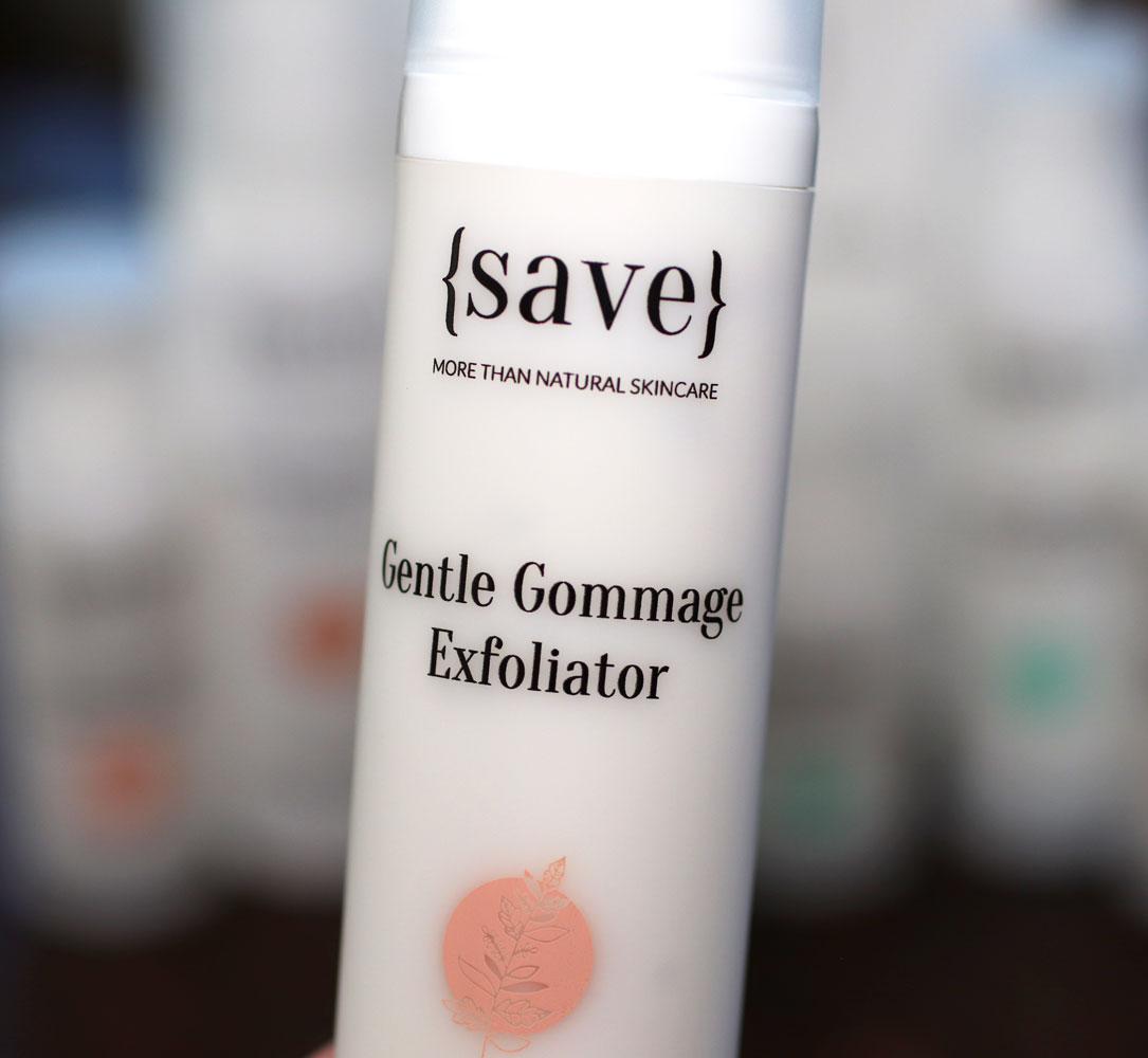 {save} skincare Gentle Gommage Exfoliator