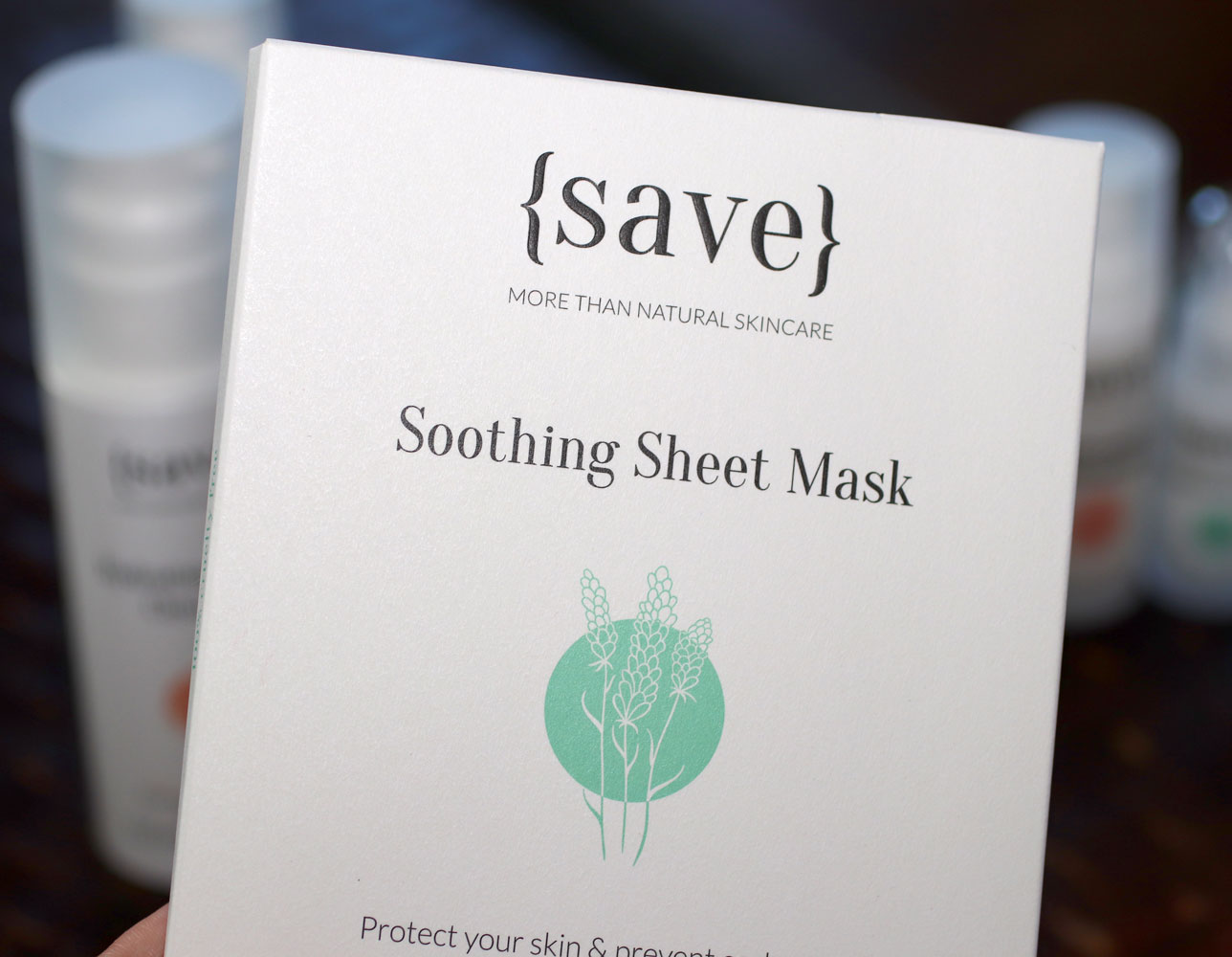 {save} Soothing Sheet Mask