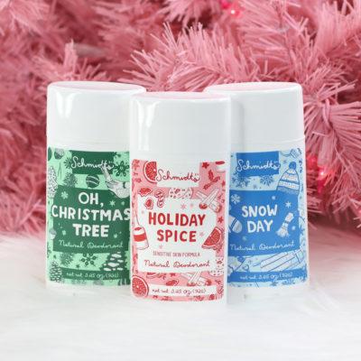 Schmidts Vegan Bar Soap and Holiday Deodorants