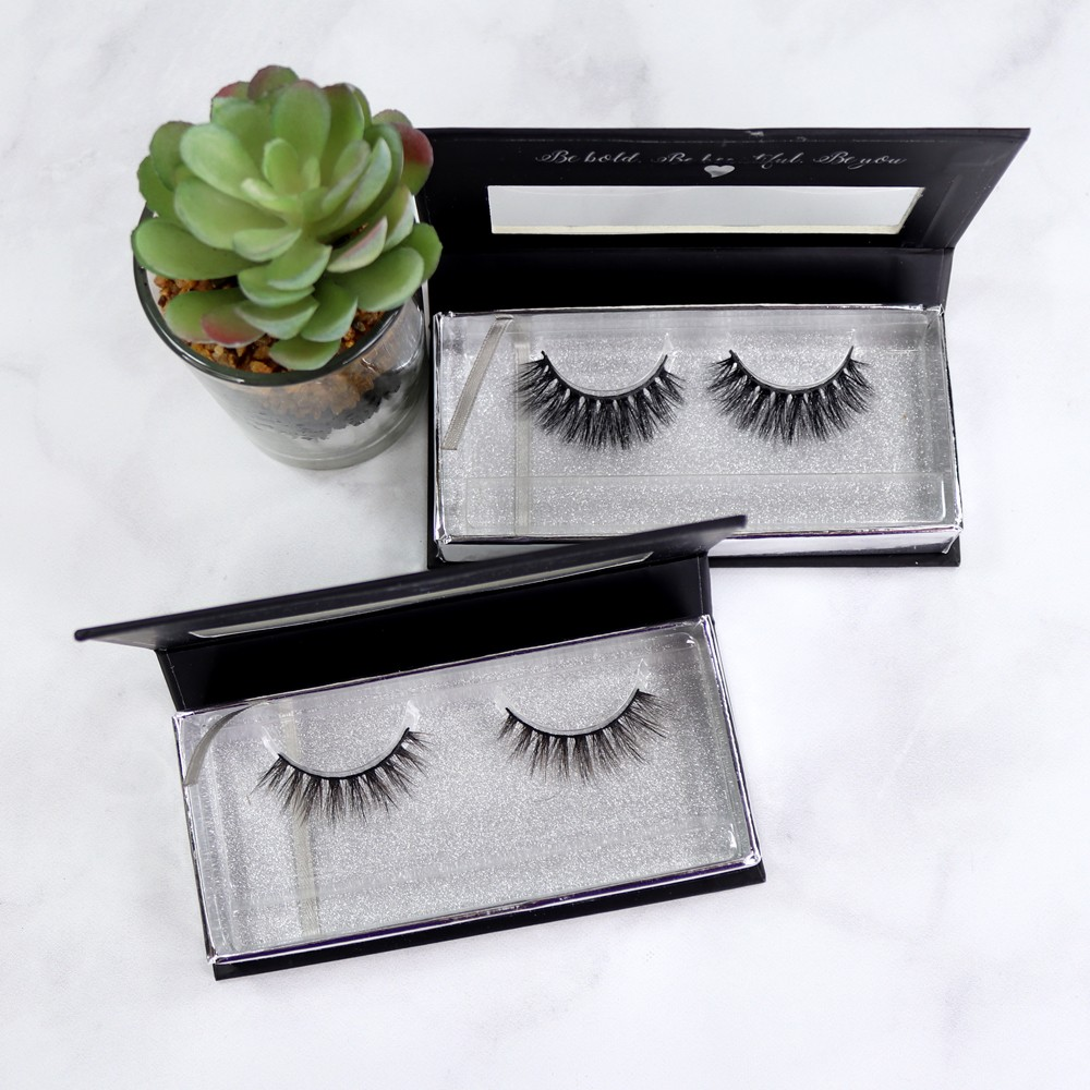 Sheree Cosmetics Cruelty Free Glam False Lashes - Sheree Cosmetics Review and Giveaway by popular Los Angeles cruelty free beauty blogger My Beauty Bunny
