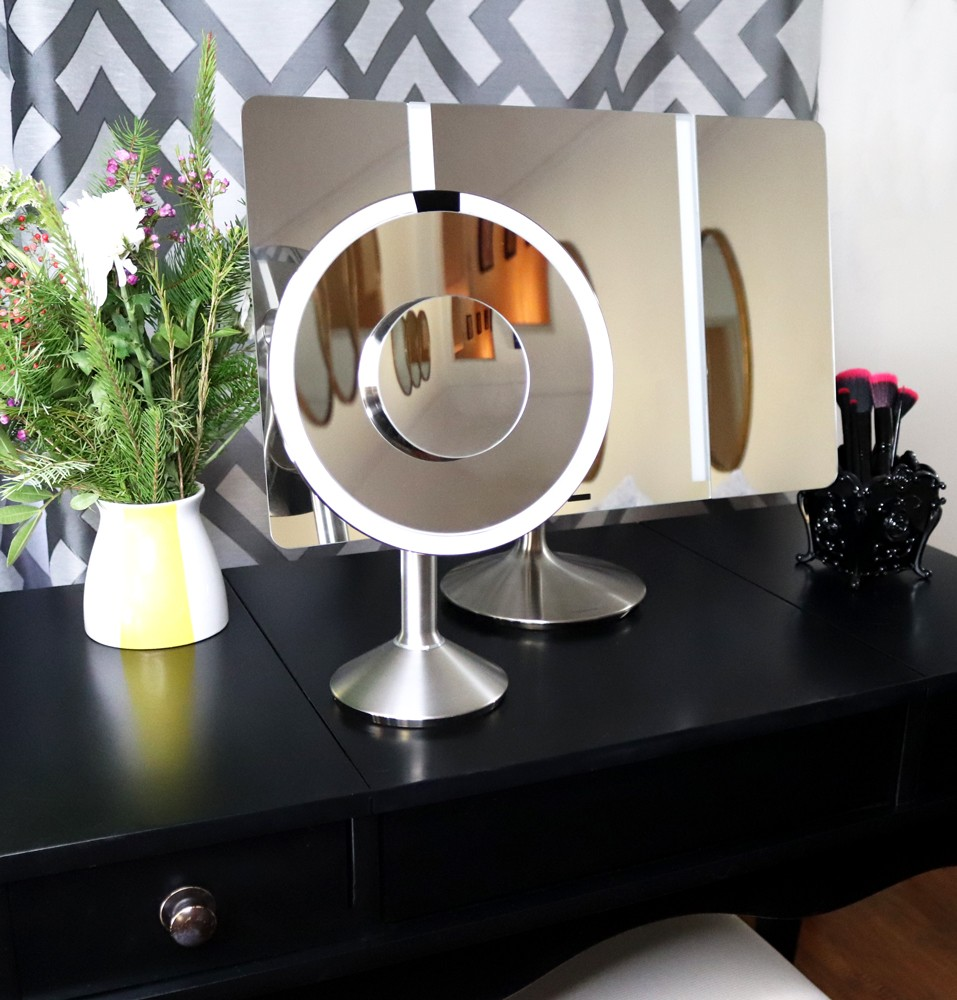 Simple Human Mirror Review - SimpleHuman Mirrors Changed My Makeup Game by LA cruelty free beauty blogger My Beauty Bunny