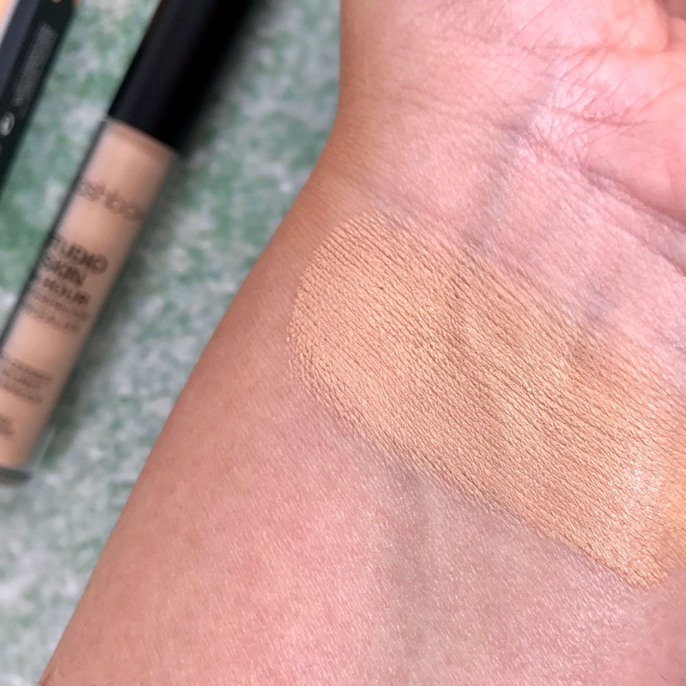 Smashbox Waterproof Concealer Review and Swatch