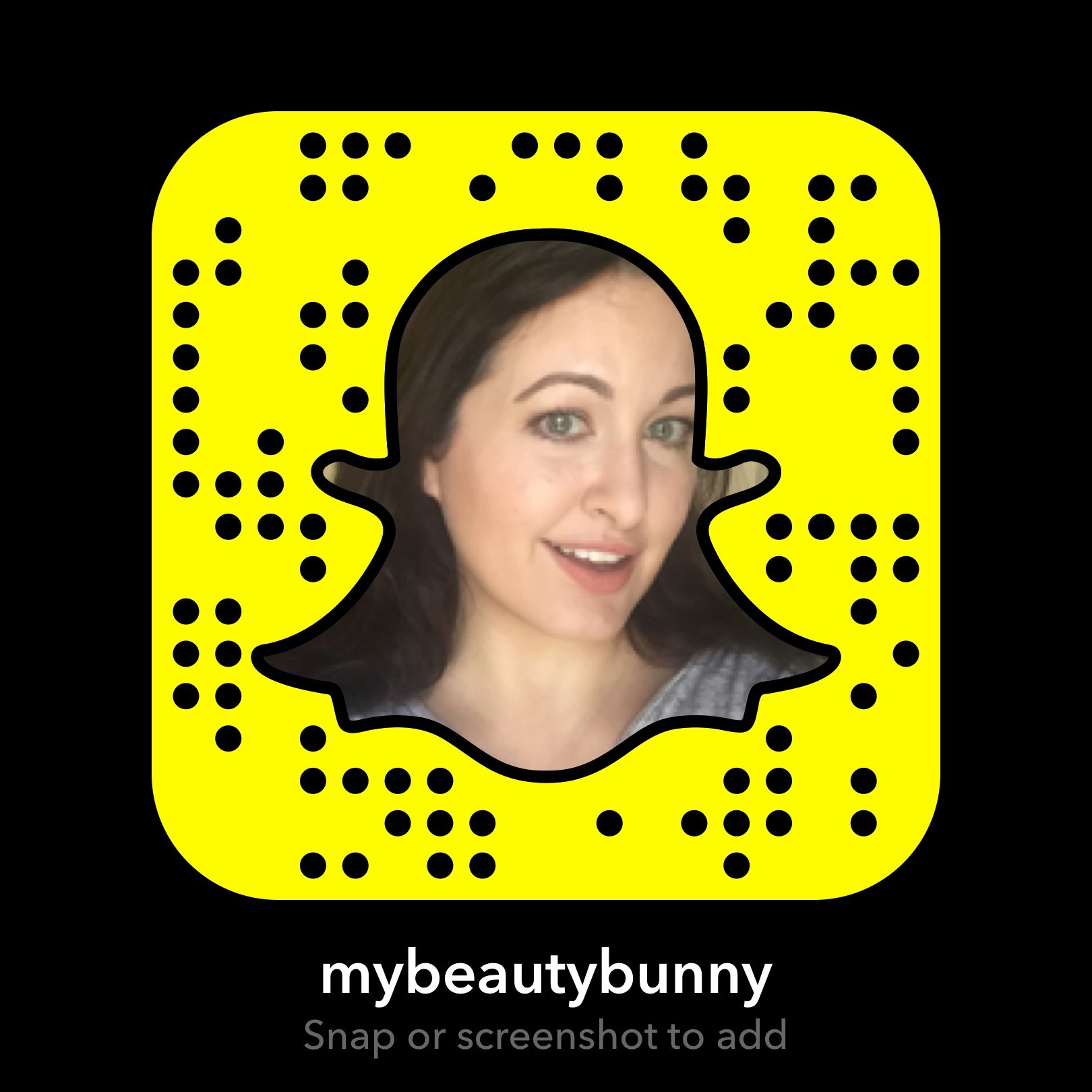 My Beauty Bunny SnapChat