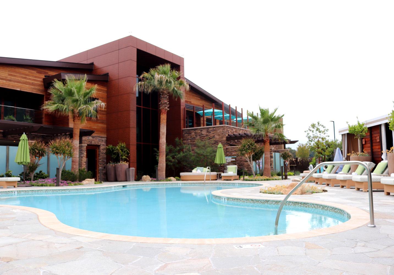 Spa Pechanga private pool and cabanas