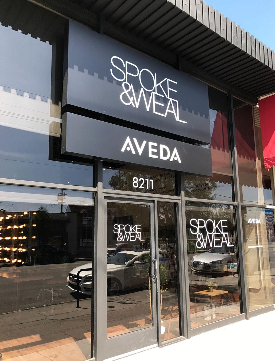 Spoke and Weal Los Angeles salon