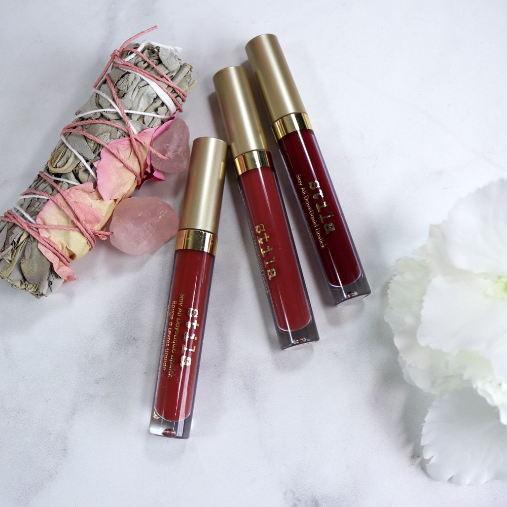 Review | Stila Stay All Day - Bold Lipstick Shades for Fall featured by popular Los Angeles cruelty free beauty blogger My Beauty Bunny