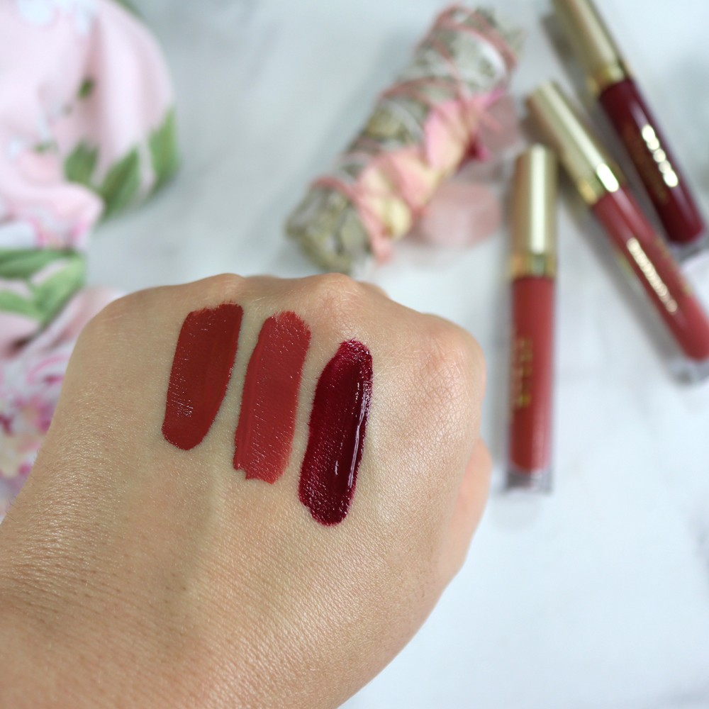 Fall Shades | Review | Stila Stay All Day - Bold Lipstick Shades for Fall featured by popular Los Angeles cruelty free beauty blogger My Beauty Bunny