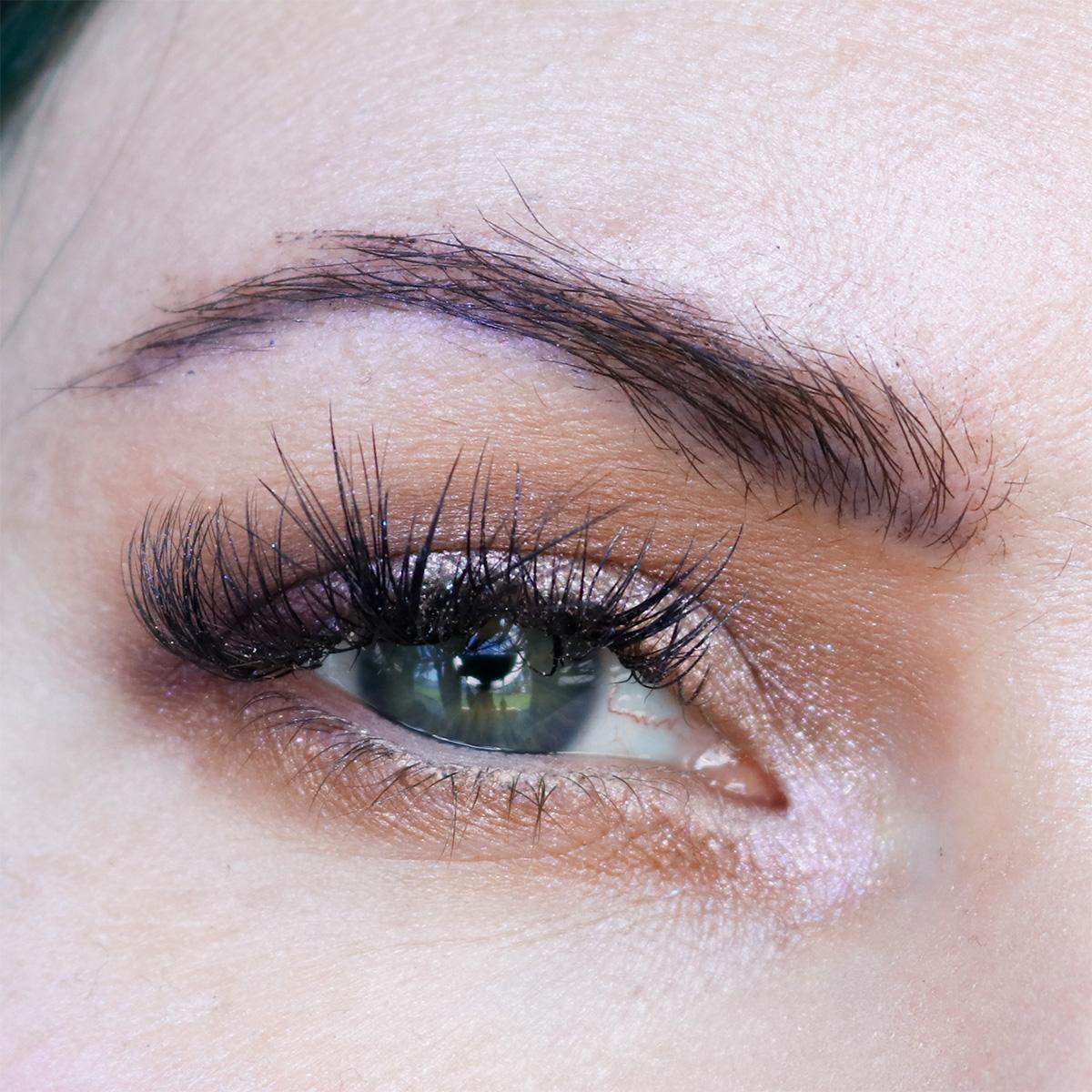 Subtle Purple Eye Makeup on Hooded Eyes