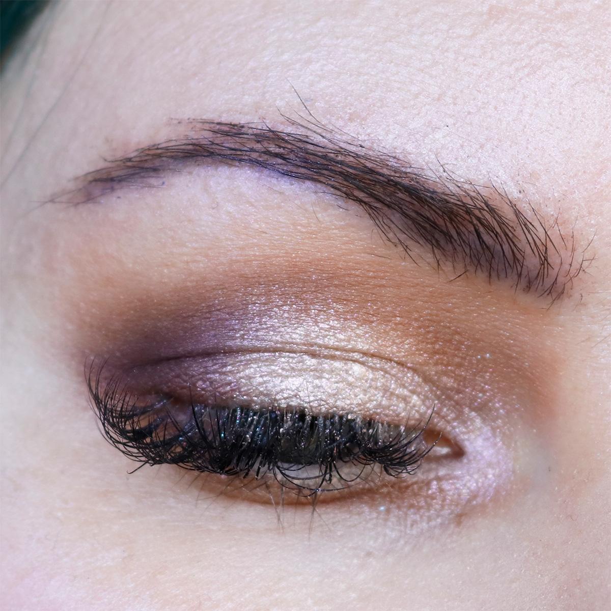 Subtle Purple Makeup Look
