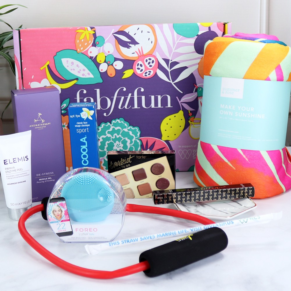 Fity Fab Fit: FabFitFun Summer 2018 Unboxing And Giveaway