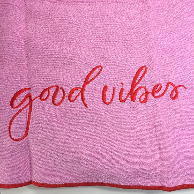 Summer and Rose FabFitFun Yoga Towel