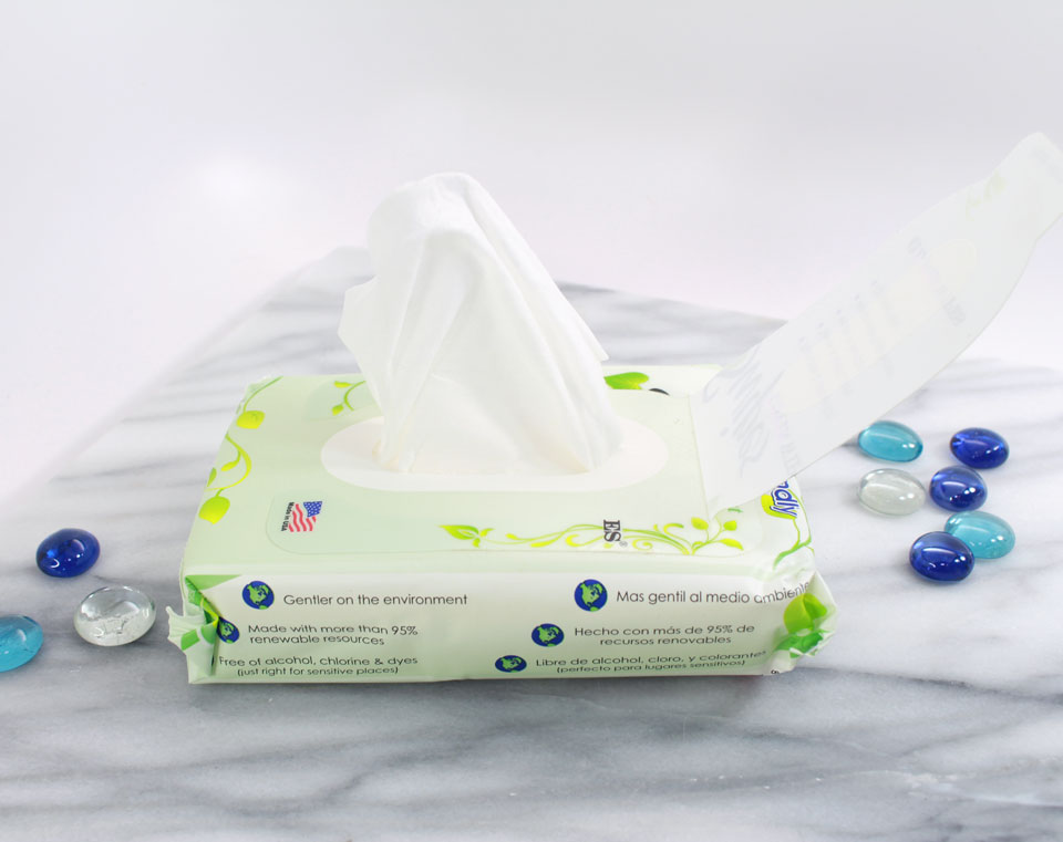 Cruelty Free Flushable Wipes