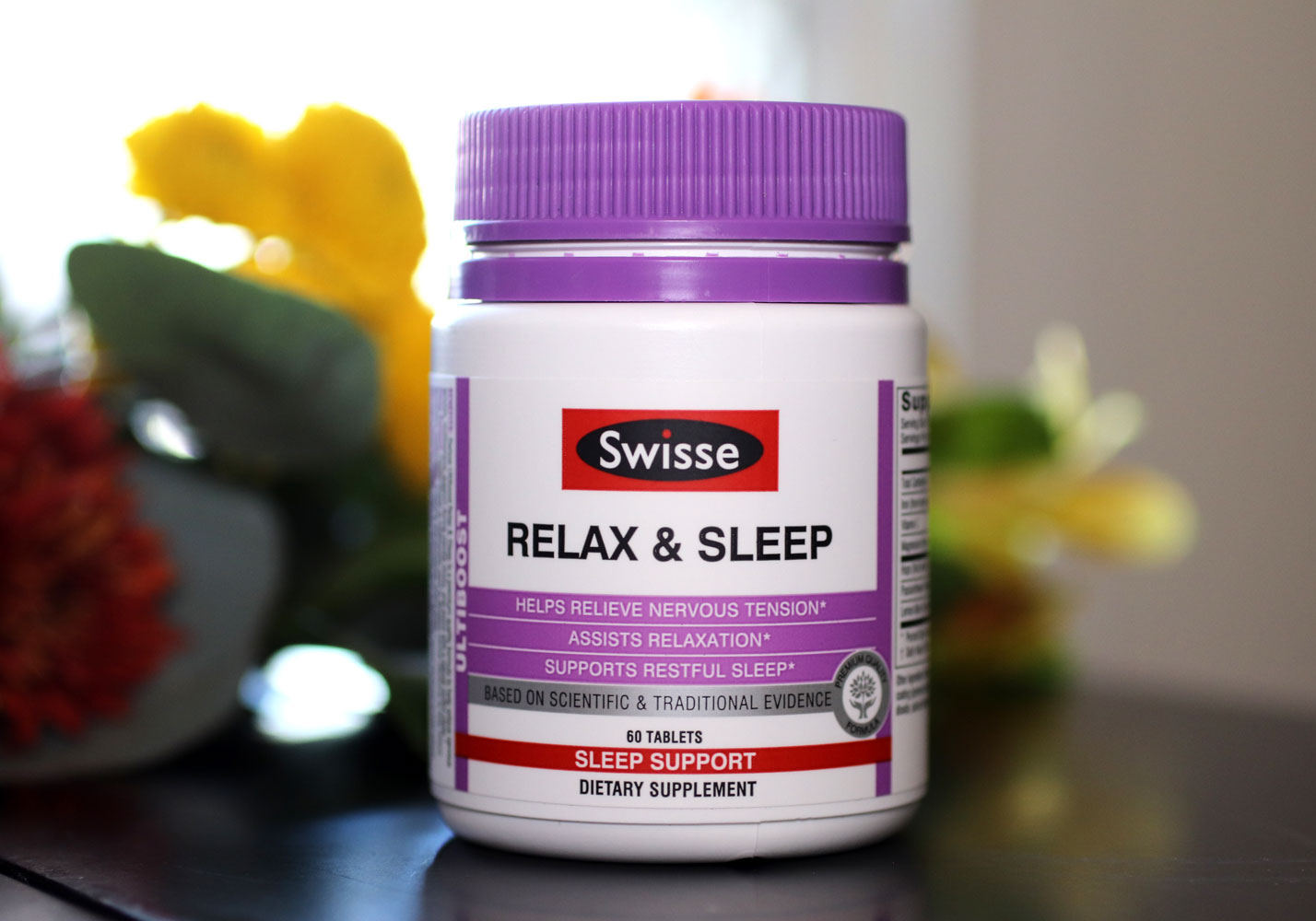 Relax and Sleep Anxiety Supplement by Swisse - Health Blogger Review