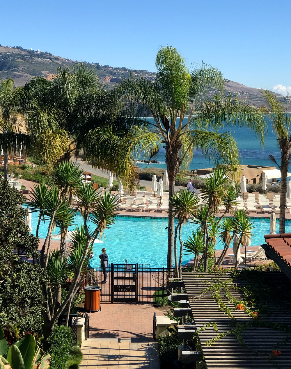 Best Weekend Trips from LA - Terranea Pool View - Wanderlust Wednesday Terrenea Resort Review by popular Los Angeles blogger My Beauty Bunny