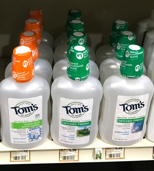Toms of Maine mouthwash at Sprouts