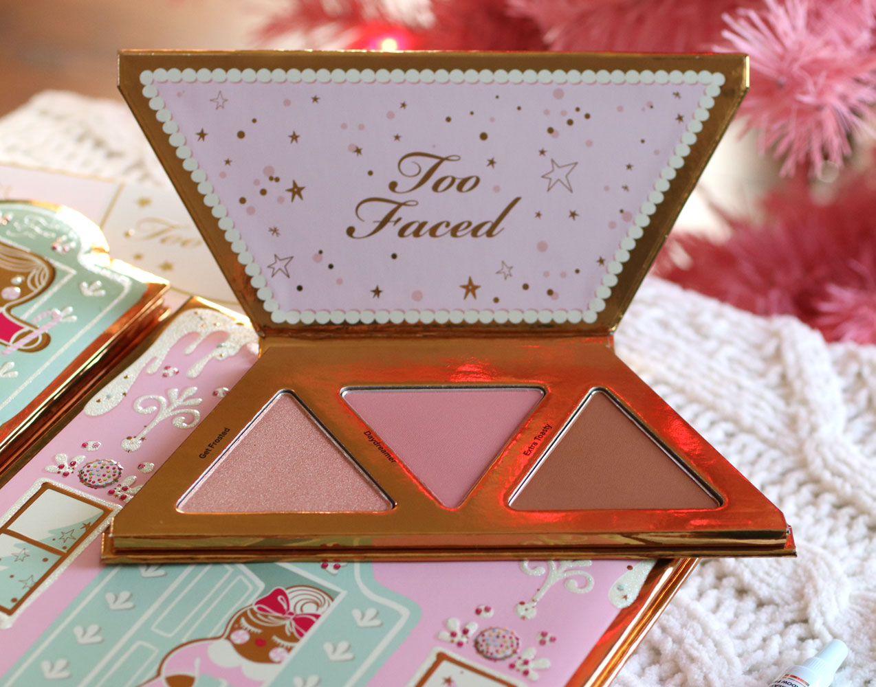 Too Faced Christmas Cookie House Party face palette