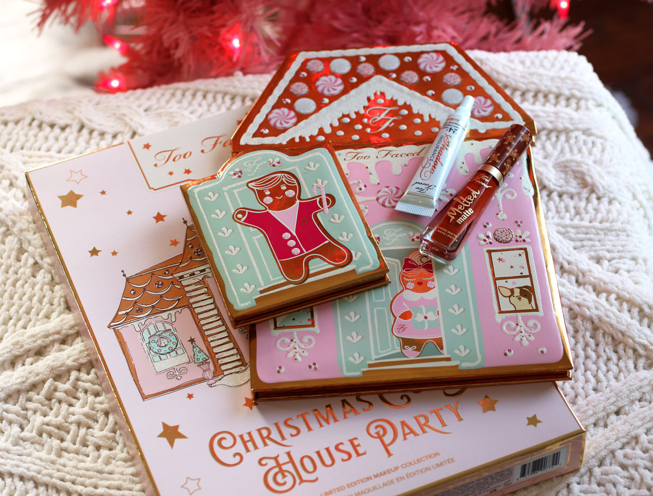 Too Faced Christmas Cookie House Party holiday gift set 2019