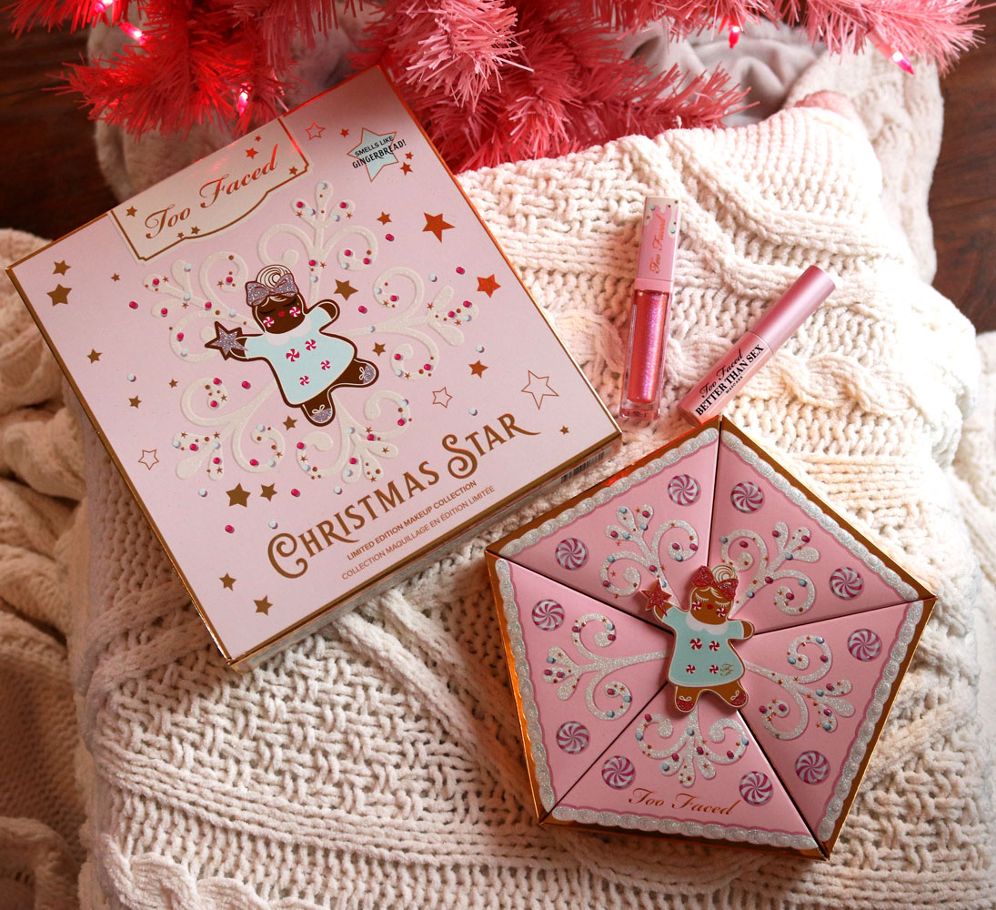 Too Faced Christmas Star holiday gift set 2019 review