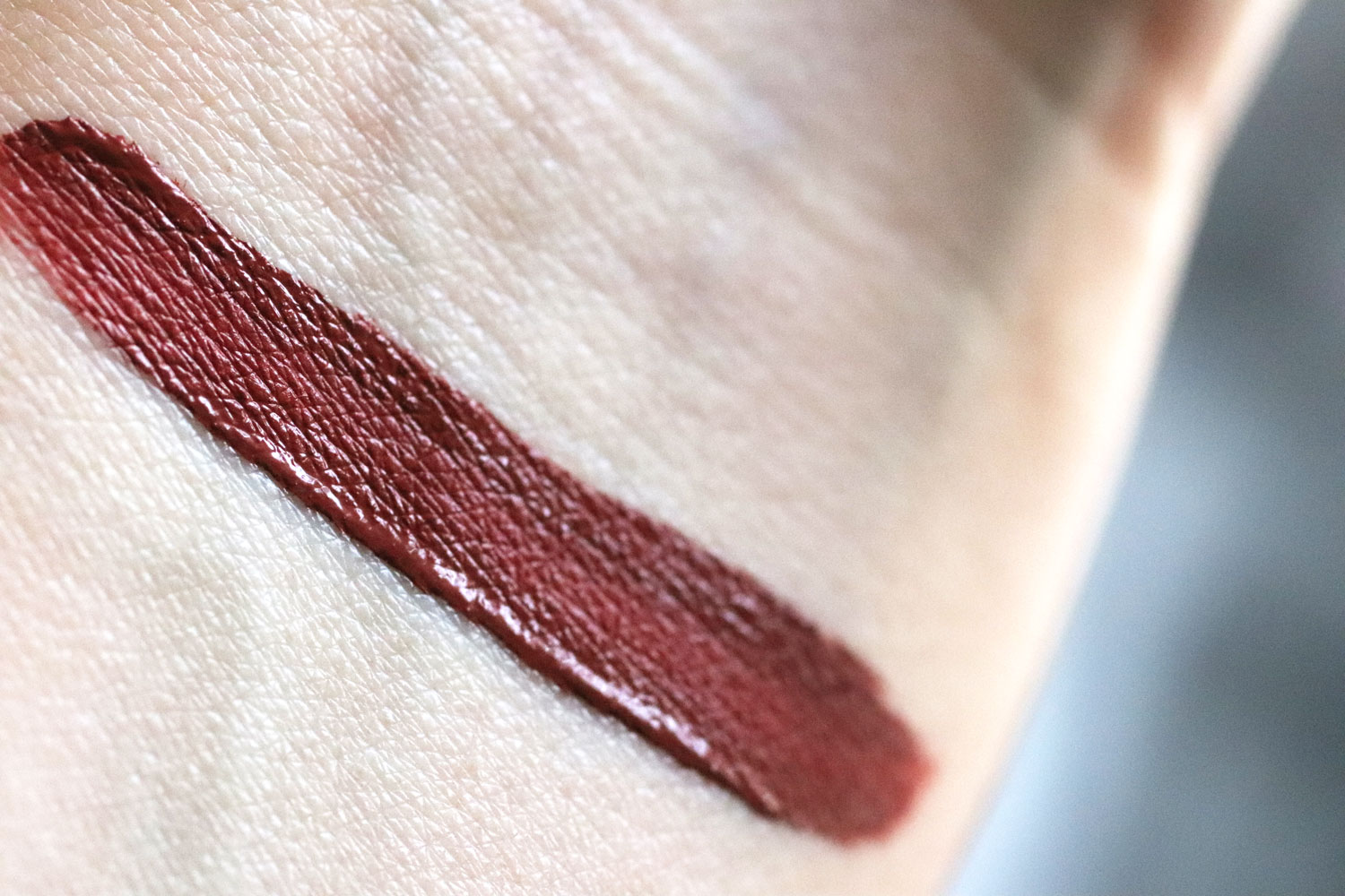 Too Faced Gingerbread Girl Melted Matte Lipstick Swatch
