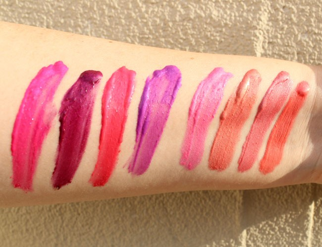 Too Faced Melted Metal Lipsticks Swatches