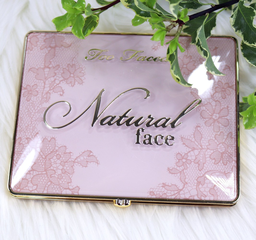 Too Faced Natural Face Palette Review and Swatches by Cruelty Free Beauty Blog, My Beauty Bunny